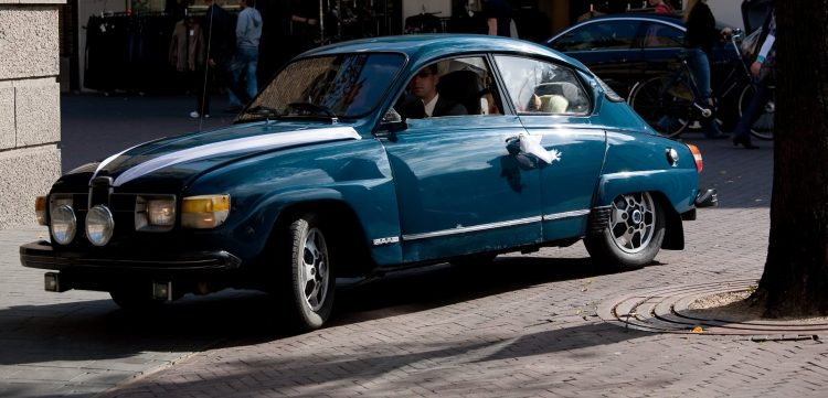SAAB 96 V4 marriage