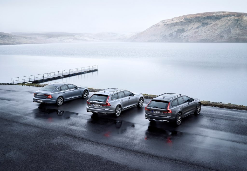 Volvo S90 / V90 / V90 Cross Country by Volvo Press