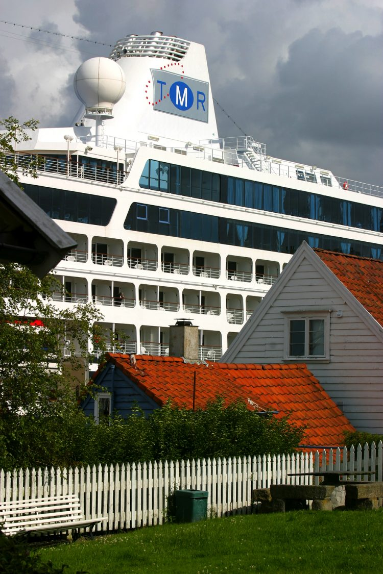 Cruiseship in Stavanger by Anders Nielsen/Innovation Norway