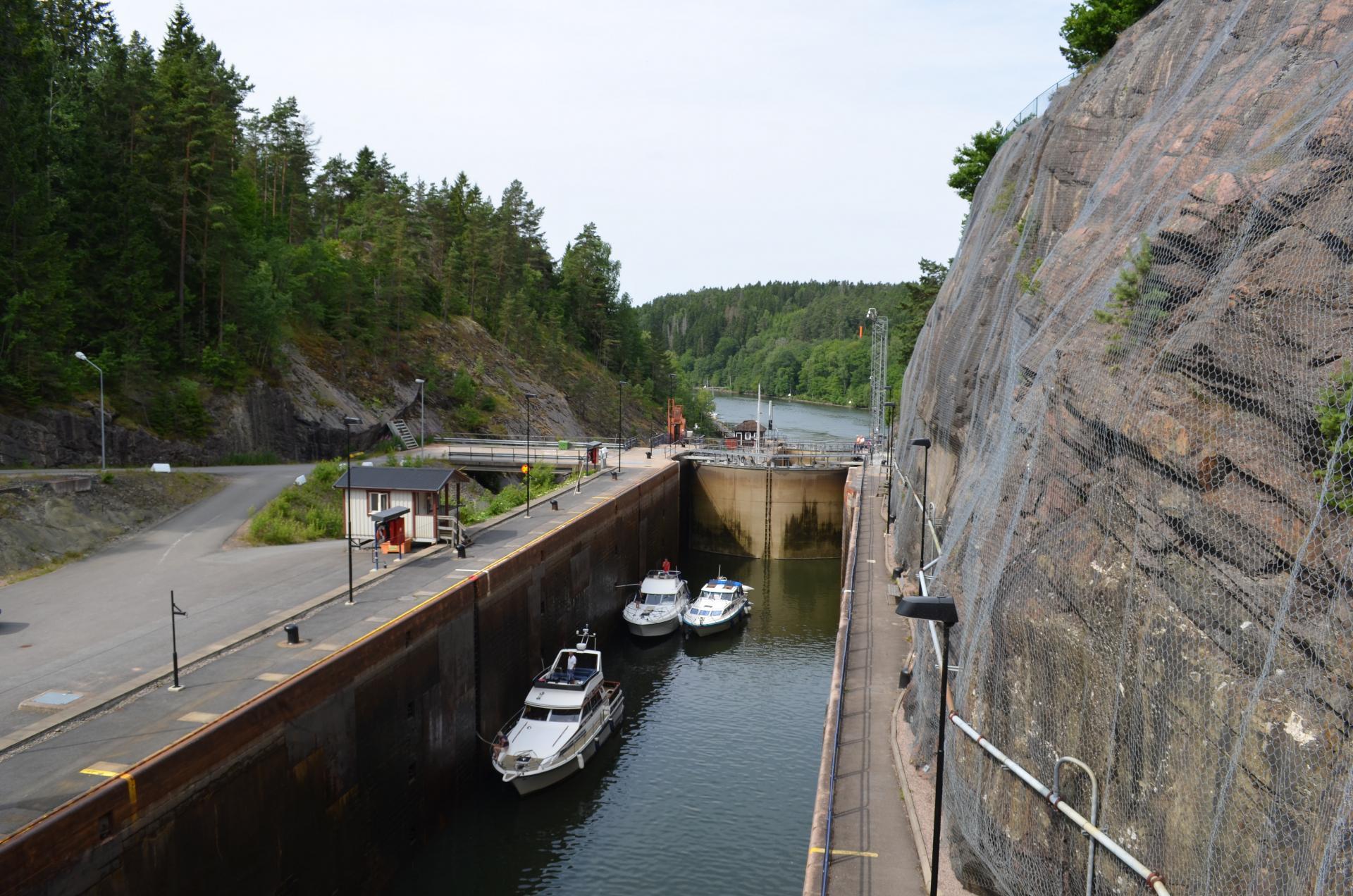 Locks, Trollhättan, Sweden